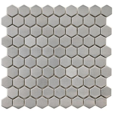 merola tile meta hex 11 1 4 in x 11 1 4 in x 8 mm