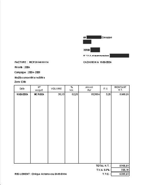 location de chambre particulier modele facture location appartement document