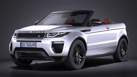 3d Model Land Rover Range