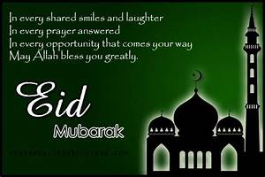 Eid Mubarak Wis... Eid Holidays Quotes