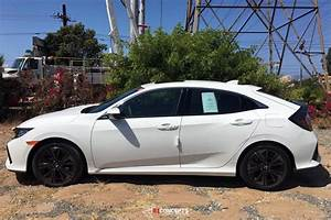 Some closeups of 2017 Civic Hatchback in white | 2016 ...
