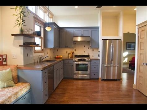 Cheap Ideas For Kitchen Backsplash - grey kitchen cabinets grey kitchen cabinets with dark countertops youtube