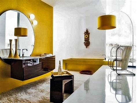 idee salle de bain pourquoi pas la deco en jaune