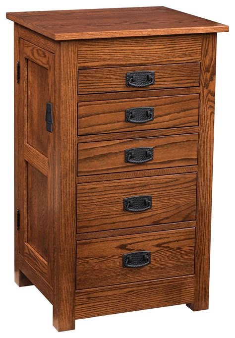 Mission Jewelry Armoire by 35 In Flush Mission Jewelry Armoire Solid Wood