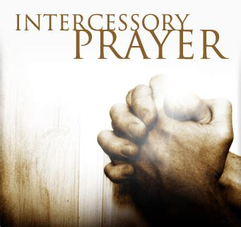 Intercessory Prayer  The Praise Temple