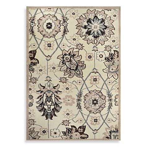 westwood accent rug buy westwood traditional floral accent rug in ivory from