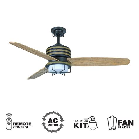 Outdoor Ceiling Fans With Remote by Craftmade Mor54esp3 Espresso 54 Quot 3 Blade Outdoor Ceiling