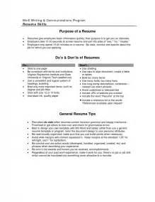 objective lines on resumes exles objective lines for resume sles of resumes