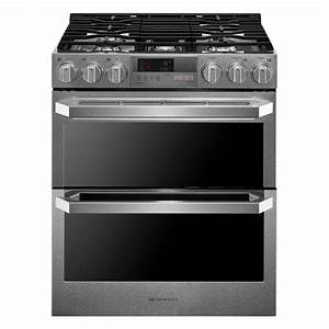 Maytag Gemini 6.7 cu. ft. Double Oven Electric Range with ...