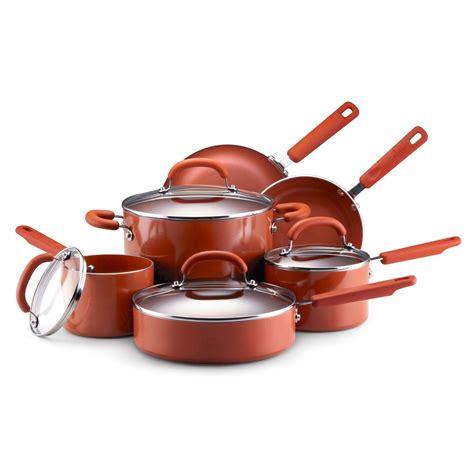 earth pan  piece cookware set  terra cotta