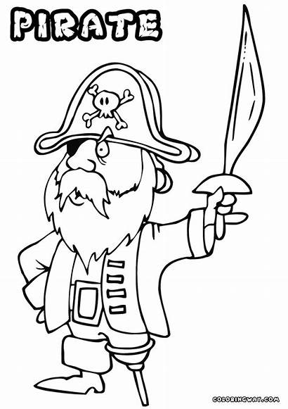 Pirate Coloring Pages Colorings