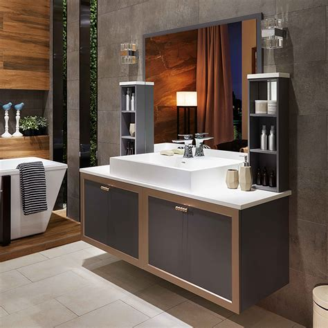 Silver Bathroom Cabinet by Oppein Kitchen In Africa 187 Silver And Matte