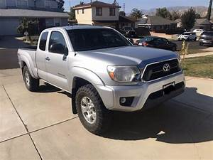 2012 Toyota Tacoma 4x4 6 Speed Manual For Sale In Shadow