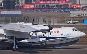 First Chinese Domestic Large Amphibious Aircraft Makes ...