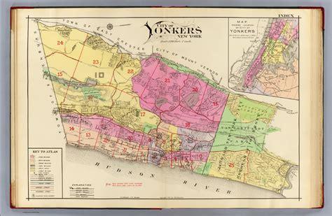 Yonkers NY Neighborhood Map