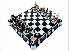 Lego Star Wars Chess Sets Swankier Than Vader's Vinyl