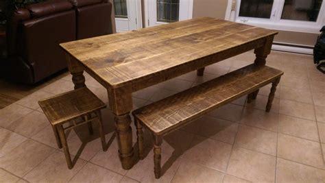 table cuisine avec banc table de cuisine en bois table de cuisine sur mesure de