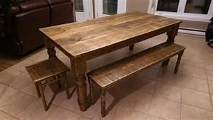 Table De Cuisine En Bois : table cuisine bois table rallonge design maison boncolac ~ Teatrodelosmanantiales.com Idées de Décoration