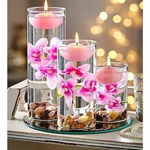 bougie flottante rose deco mariage badaboum With déco chambre bébé pas cher avec envoyer des fleurs pas cher livraison gratuite