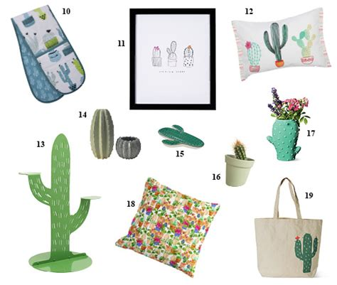 10 Ways Work Cactus Trend by Strictly Prickly 19 Ways To Embrace The Cactus Trend