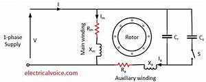 Single Phase Capacitor Start Capacitor Run Motor Wiring Diagram Pdf