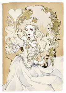 alice in wonderland drawings | The White Queen - Alice in ...