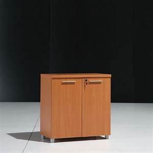 Meuble Bas 2 Portes : meuble bas 2 portes en bois l80cm mobilier ~ Dallasstarsshop.com Idées de Décoration
