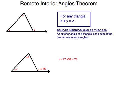 triangle theorems hunter  math center summer