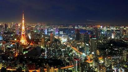 Tokyo Japan Cityscape Tower Desktop Wallpapers Backgrounds
