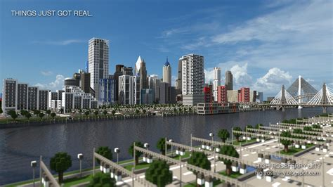 modern city map minecraft high rossferry a realistic modern city minecraft project