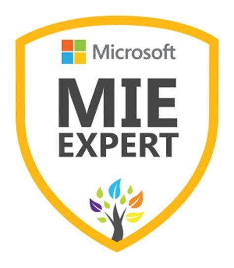 microsoft innovative educator mie programs mie expert