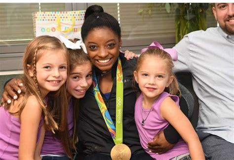 Simone Biles and Her Family