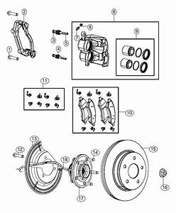 2016 Ram 1500 Used For  Hub And Bearing  Brake  Front