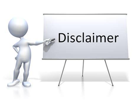 Disclaimer  Saiyanfit Blog