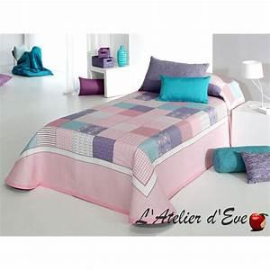 Couvre Lit Patchwork : couvre lit pour enfant effet patchwork brigid de reig marti ~ Teatrodelosmanantiales.com Idées de Décoration
