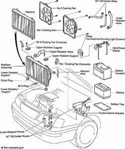 1966 Mustang Radiator Diagram