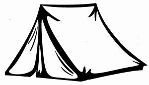 Tent Coloring Page | Free Coloring Pages