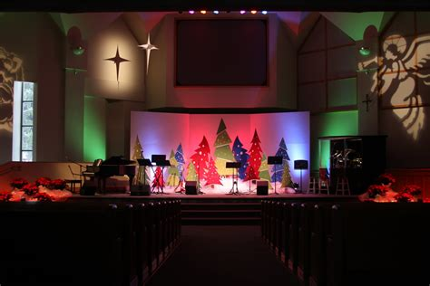 church stage decorating ideas advent   enchanted