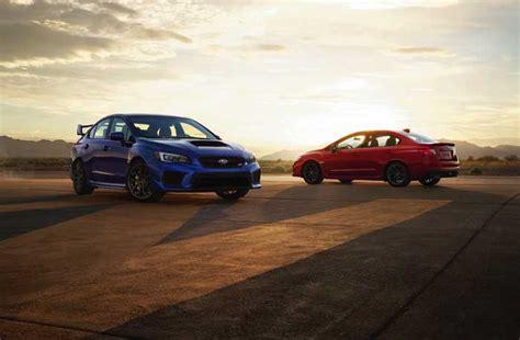 2019 Subaru Wrx And Wrx Sti Detailed  Geeky Gadgets