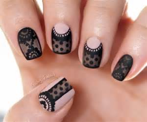 Classy black nail art designs for hot women