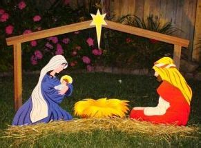 wooden outside nativity set pin by amie druehl on