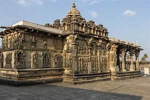 Halebid And Belur  U2013 Hoysala Temples Near Hassan  India
