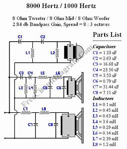 Crossover Design Using Online Crossover Calculator  U2013 Electronic Circuit Diagram