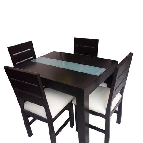 mesa comedor minimalista mesa de comedor minimalista con vidrio con 4 sillas