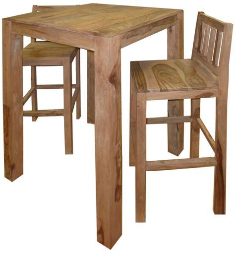 cuisine jaune et grise tabouret de table en bois