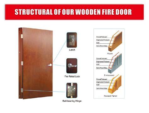 customized  mins fire proof wooden laminate door  ul