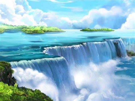 Animated Waterfall Wallpaper - waterfall wallpapers free wallpaper cave