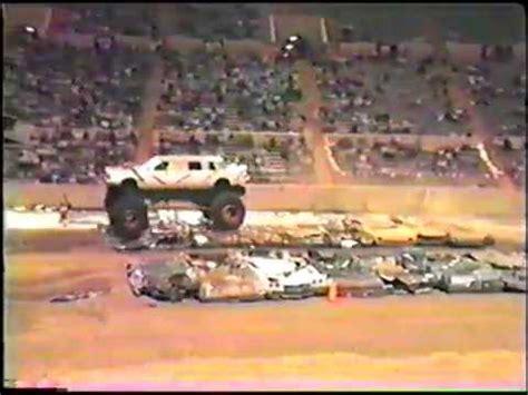 spokane monster truck spokane old monster truck race youtube
