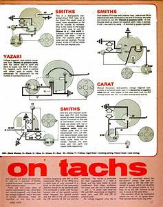 Smith Tachometer Wire Diagrams  Smith  Free Engine Image For User Manual Download