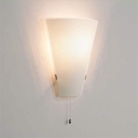 dimmable pull cord switch wall light 60w e14 l ip20